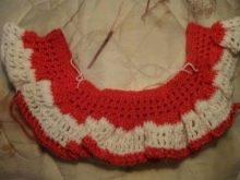 Вязание платья с кокеткой для девочек 1-3 лет - шаг 4