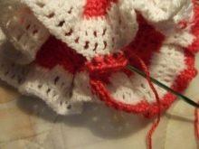Вязание платья с кокеткой для девочек 1-3 лет - шаг 5