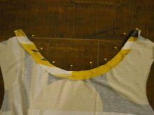 Пошив трикотажного летнего платья шаг - 4