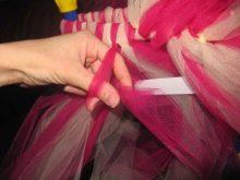 Создание приталенного платья-туту шаг 3