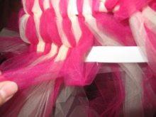 Создание приталенного платья-туту шаг 5