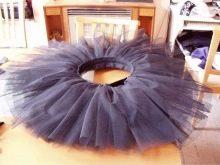 Юбка-пачка на платье