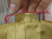 Обработка шлицы с подкладкой - шаг 4