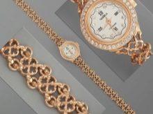 965f89d7fd37 Золото прекрасно сочетается и со многими драгоценными камнями. Ярким  примером такого сочетания могут выступить женские золотые часы с золотым  браслетом, ...