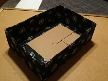 Декупаж коробок из под обуви