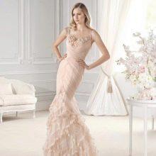 Свадебное платье русалочка от La Sposa