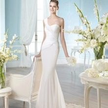 Свадебное платье в греческом стиле от San Patrick