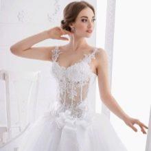 Свадебное платье в стиле Мадонны