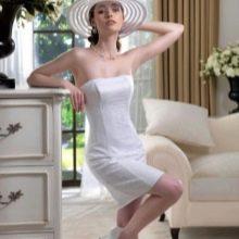 Свадебное платье футляр от Ольга Споса