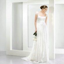 Свадебное платье в стиле рустик от Jesus Peiro