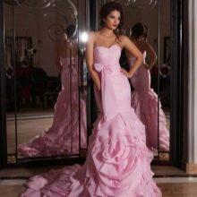 Свадебное платье от Crystal Design розовое