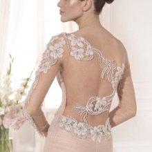 Свадебное платье с открытой спиной от Tarik Ediz