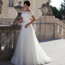 Свадебное платье от Crystal Design из кружева
