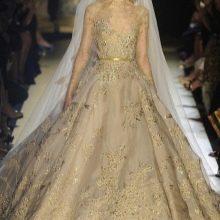 Свадебное платье от Elie Saab кружевное