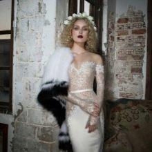 Свадебное платье от Julie Vino с кружевным верхом