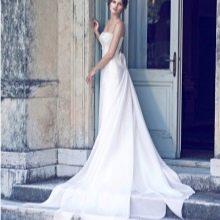 Свадебное платье от Giuseppe Papini со шлейфом