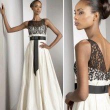 Свадебное платье с топом связанным крючком