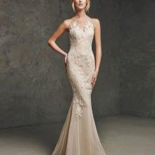 Кружевное платье вечернее русалка