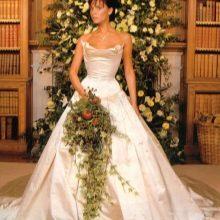 Свадебное платье Виктории Бэкхем