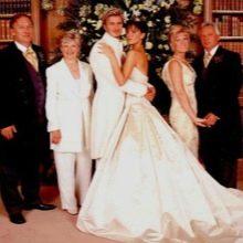 Свадебное платье В. Бэкхем