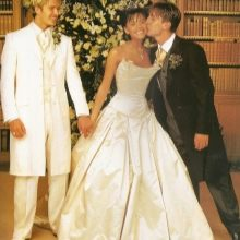 платье свадебное Виктории Бэкхем