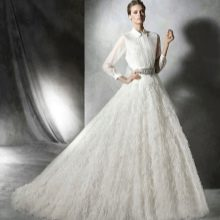 Свадебное платье рубашка от Проновиас