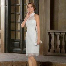 Свадебное платье футляр из коллекции Римские каникулы от Габбиано