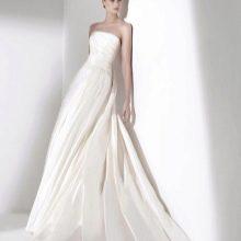 Свадебное платье ампир от Эли Сааба