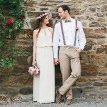 Свадьба в стиле рустик в Германии