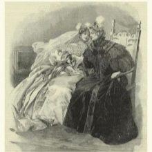 Платье свадебное 18 века
