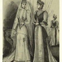 Прямые свадебные платья 18 века