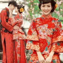 Свадебное китайское платье
