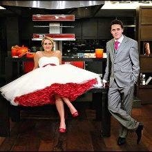 Свадьба в красном цвете образ молодых