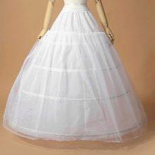 Кринолиновый свадебный подъюбник из 4 колец