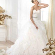 Свадебное платье с поясом из коллекции DREAMS от Проновиас