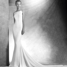 Свадебное платье в стиле минимализм от Проновиас 2016
