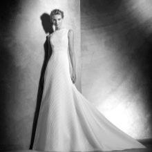 Свадебное платье со шлейфом 2016 от Проновиас