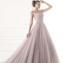 Цветное свадебное платье от Проновиас