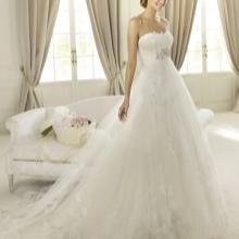 Свадебное платье от  Pronovias а-силуэта