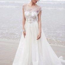 Свадебное платье от Anna Campbell ампир