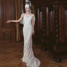 Свадебное платье от Ange Etoiles в стиле ретро