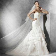 Свадебное платье от Проновиас русалка