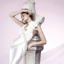 Свадебное платье от Chiarade атласное