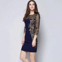 Вечернее платье мини из Китая
