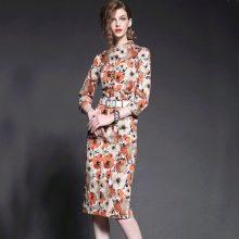 Вечернее платье миди из Китая