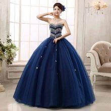 Пышное вечернее платье из Китая