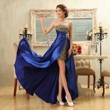 Вечернее платье с разрезом из Китая