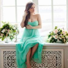 Платье для беременной для фотостудии