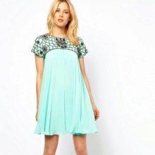 """Трапецевидное платье для женщин с фигурой """"Песочные часы"""""""