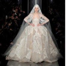 Свадебное платье барочное